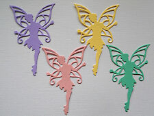 Fairy Paper Die Cuts x 10 Girls Birthday Scrapbooking Card Topper Embellishment