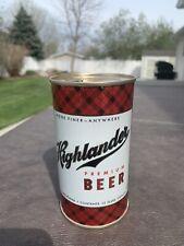 Beautiful Montana Highlander Flat Top Beer Can