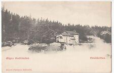 Sweden; Trollhattan, Hogra Gullofallet PPC, Unposted, Undivided Back, c 1900-05
