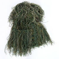TACTICS HUNTING GRASS GHILLIE YOWIE 3D QUIET CAMOUFLAGE HEAD COVER HOOD