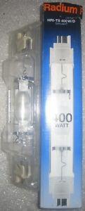 1* RADIUM HRI-TS 400W/D NEU&OVP OSRAM HQI-TS 400W/D Rechnung