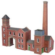 Metcalfe Boilerhouse & Factory Entrance OO Gauge Card Kit PO284