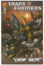 TRANSFORMERS TIMELINES SPECIAL #1; 2008 NM/MT Cheap Shots, Fun Publications