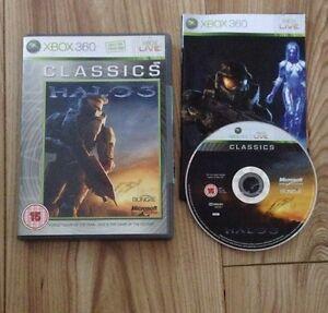 HALO 3 Classics XBOX 360 COMPLETE Fast Free Uk Post