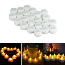 24pcs Flameless LED Candle Lights Battery Operated Electric Tea Light Flickering