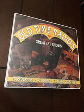 "OLD TIME RADIO ""GREATEST SHOWS"" ON 20 CASSETTES - 30 HOURS of 60 PROGRAMS"