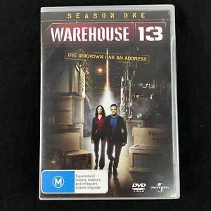 Warehouse 13 Season 1 One DVD 4-Disc R4 PAL Like New