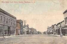 Flandreau South Dakota Main Street Scene Historic Bldgs Antique Postcard K21620