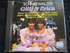 CD  GITTI & ERICA  Schneewalzer  Original Teldec CD in Topzustand