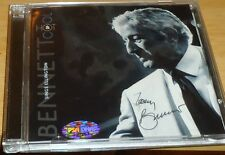 TONY BENNETT AUTOGRAPH CD AND AUTOGRAPHED CD COVER PSA/DNA AUTHENTIC 2 AUTOGRAPH