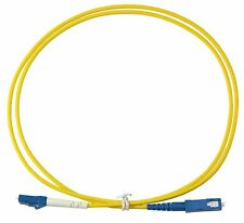 10m LC-SC Simplex 9/125um Single Mode Patch Cord, UPC Polish