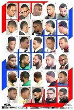 2014BM Barber Poster Hairstyles 30 Cuts for African American Men