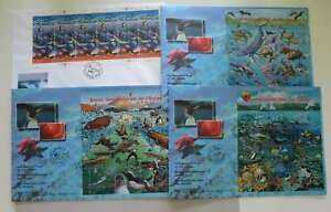 UNO 1998 + 1992 WONDEFUL COLLECTION FDC SEA LIFE /dn182