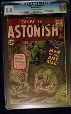 1962 Marvel Tales To Astonish #27 Cgc 3.0 Cream to Off White Pages 1st Ant-Man