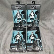 "Star Wars Black Series ""4 SCOUT TROOPERS"" GAMING GREATS BRAND NEW"