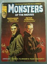 MONSTERS OF THE MOVIES #8 VG AUGUST 1975 HORROR MAGAZINE (Rare)