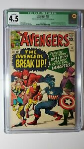 The Avengers Comic #10 (1964) CGC 4.5 VG+ QUALIFIED Q GREEN LABEL 1st Immortus