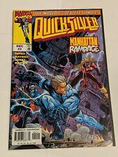 Quicksilver #2 December 1997 Marvel Comics Peyer Haynes Jones Martin VARIANT