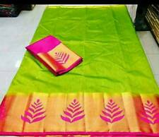 PartyWear Wedding Indian Bollywood Designer Traditional kanchipuram Silk Saree