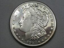 1987 Two Troy oz .999 Fine Silver Morgan Style Round/Coin. #3