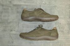 Waldläufer Pro Aktiv Green Gold Lace up Womens Leather Shoe Size 6.5