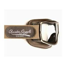 Aviator Pilot Goggles By Leon Jeantet T2 - Brown / Gold