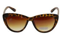 Lunette de soleil papillon verres teintés brun dégradées  +  Pochette à lunette.