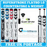 SuperStroke FLATSO 1.0 CounterCore - Putter Grips + Includes Weight & FREE Tape