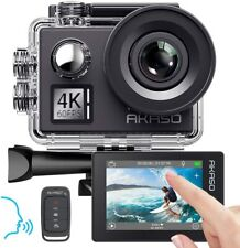 AKASO V50 Elite 4K/60fps Touch Screen WiFi Action Camera Voice Control EIS 40m
