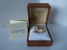 Clogau Gold, 9ct Yellow Gold Van Gogh Diamond Ring, size M