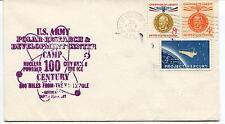 1963 U.S. Army Polar Research 100 Century Polar Antarctic Cover