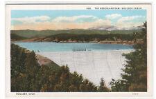 Nederland Dam Boulder Canon Canyon Colorado 1920s postcard
