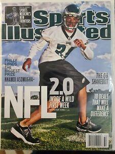 Nnamdi Asomugha Philadelphia Eagles Sports Illustrated No Label 2011 NFL 2.0