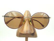 6a2731aa40625 Vintage Revlon Tropical Multi-Color Metal Round Sunglasses Frames Japan
