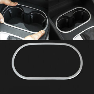 Fit For 2013-2018 Audi A3 8V Inner Accessories Water Cup Holder Frame Cover Trim