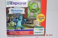 LeapFrog LeapPad Explorer Monsters University -- Boy or Girl --4+ --- NEW -- NIP
