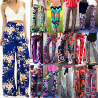 Boho Women Baggy Harem Pants Hippie Wide Leg Gypsy Yoga Palazzo Trousers Bottoms