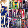 Boho Women Baggy Harem Pants Hippie Wide Leg Gypsy Yoga Palazzo Casual Trousers