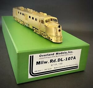 HO OVERLAND OMI Brass 6311 Milwaukee Rd DL 107A Diesel Loco