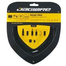 Jagwire Road Pro Racer Brake & Gear Cable Set Shimano SRAM Black One Size Jck00bk