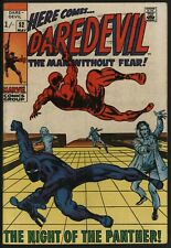 Daredevil #52 Marvel Comics VG-FN with Black Panther Barry Smith art