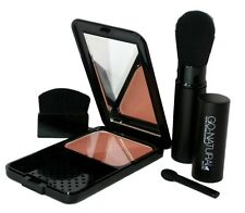 GO NATURAL ALL-IN-ONE MAGIC POWDER Make-up Concealer, Blush, Bronzer Made in USA