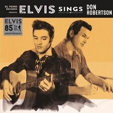 Single - Elvis Presley - Sings Don Robertson