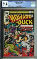 Howard the Duck # 3 CGC 9.4 WP 30 cent variant