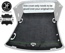 GREEN STITCH CONVERTIBLE HARDTOP ROOF HEADLINING PU SUEDE COVER FITS BMW E36