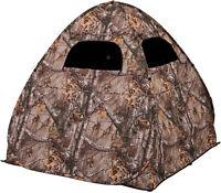 Portable Ground Hunting Blind Deer Pop Up Camo Hunter Weather Proof Hunter Tent