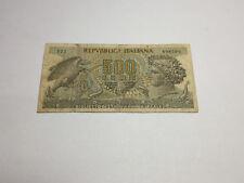 Billet Italie 500 Lire 1966