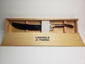Laguiole Champagne Saber Sword Knife Wine Opener Sabre - NEW