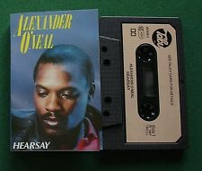 Alexander O'Neal Hearsay inc Never Knew Love Like This + Cassette Tape - TESTED