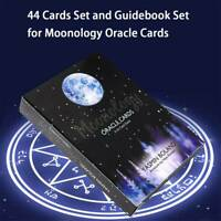 Tarot Cards Moonology Oracle Cards: A 44-Card Deck English Practical Board Games